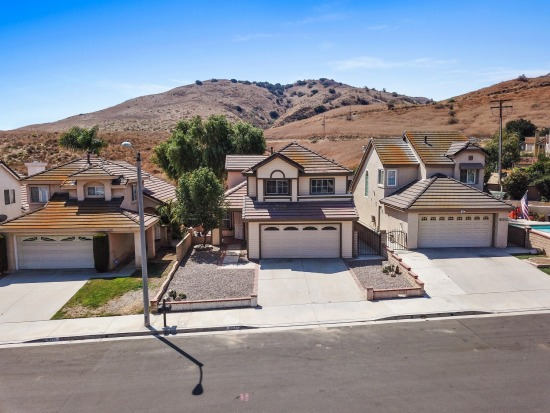 Aerial - 6517 Coyote St Chino Hills CA 91709