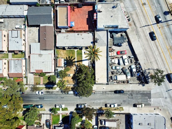 Aerial - 9304 Long Beach Blvd South Gate