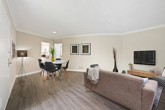 virtual staging - 628 Levering Ave Units 628B and 632E